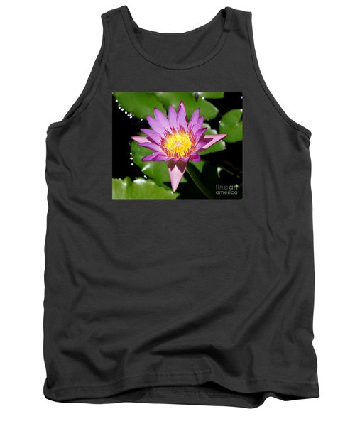 Water Lily 8 Tank Top