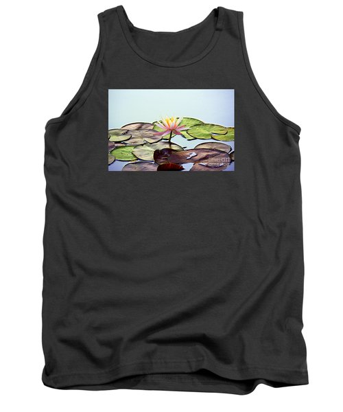 Tank Top featuring the photograph Water Lily Dream by Lisa L Silva