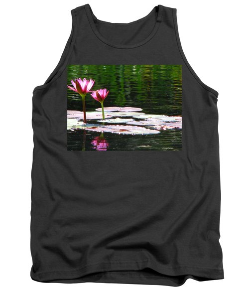 Tank Top featuring the photograph Water Lily by Greg Patzer