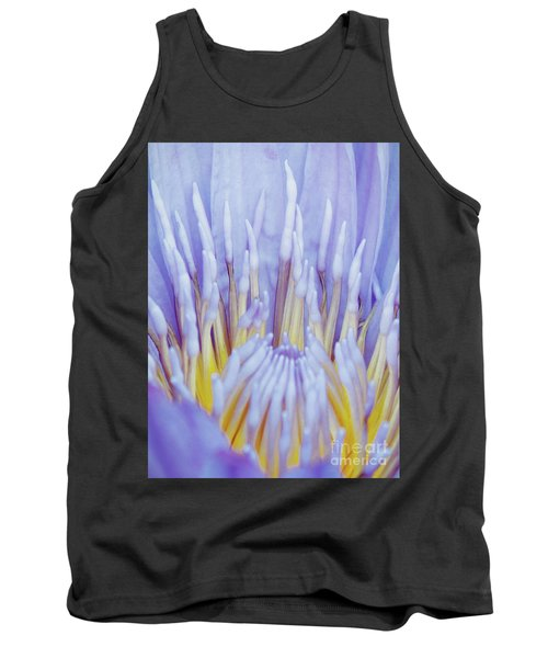 Water Lily Nature Fingers Tank Top by Carol F Austin
