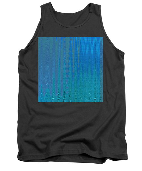 Water Music Tank Top by Stephanie Grant