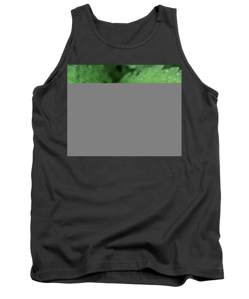 Water On The Fronds Tank Top