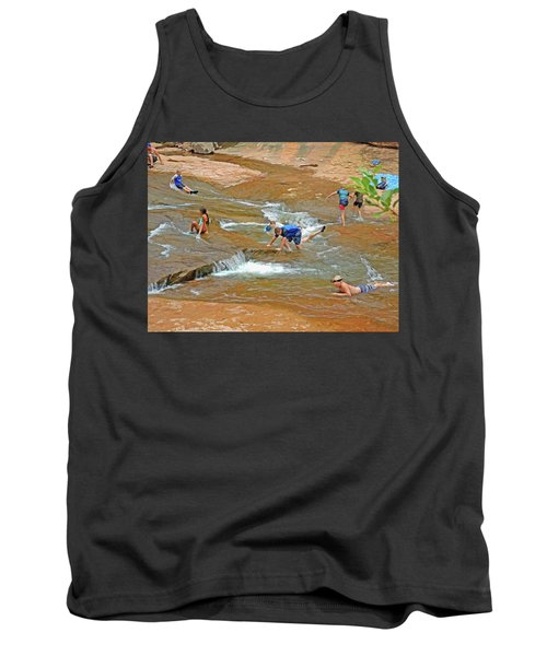Water Play 3 Tank Top