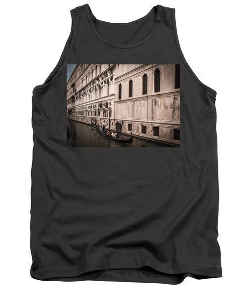 Tank Top featuring the photograph Water Taxi In Venice by Kathleen Scanlan