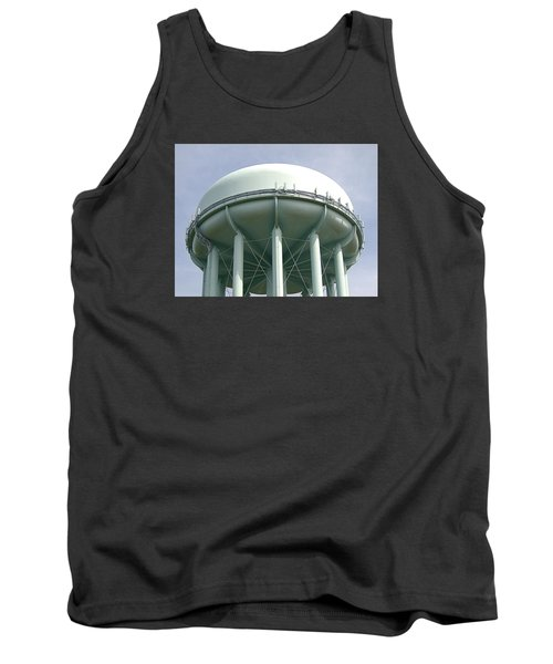Water Tower Tank Top by  Newwwman