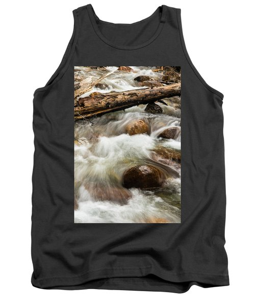 Tank Top featuring the photograph Water Under The Bridge by Alex Lapidus