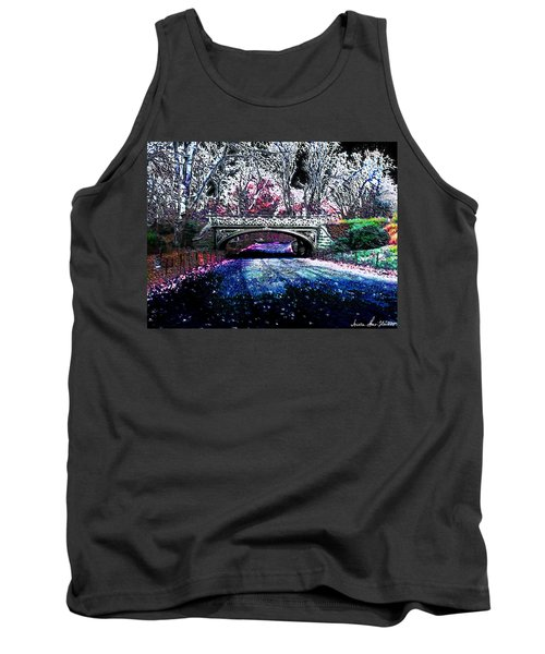 Water Under The Bridge Tank Top by Iowan Stone-Flowers