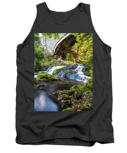 Tank Top featuring the photograph Water Under The Bridge by Nick Bywater