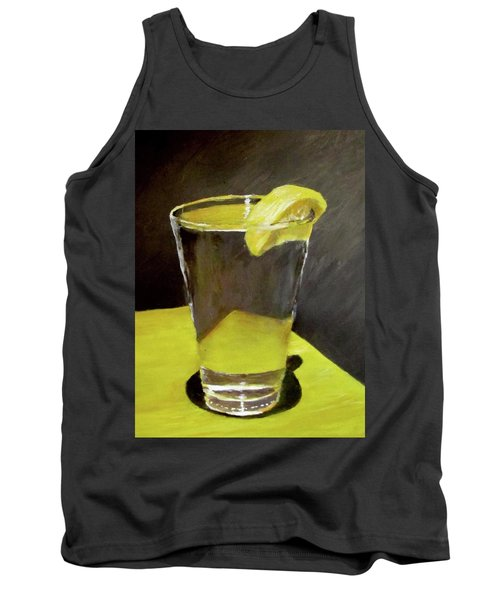 Water With A Lemon...please Tank Top