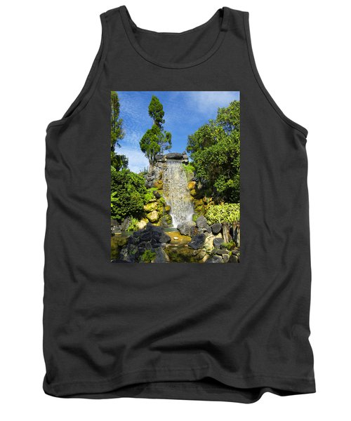 Tank Top featuring the photograph Water Works by Barbara Middleton