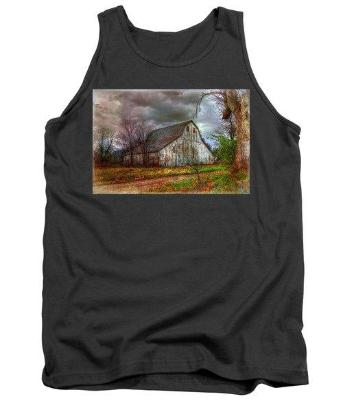 Watercolor Barn 2 Tank Top