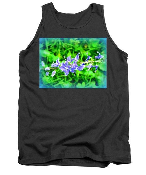 Watercolor Blooms Tank Top