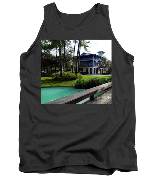 Watercolor Florida Tank Top by Megan Cohen
