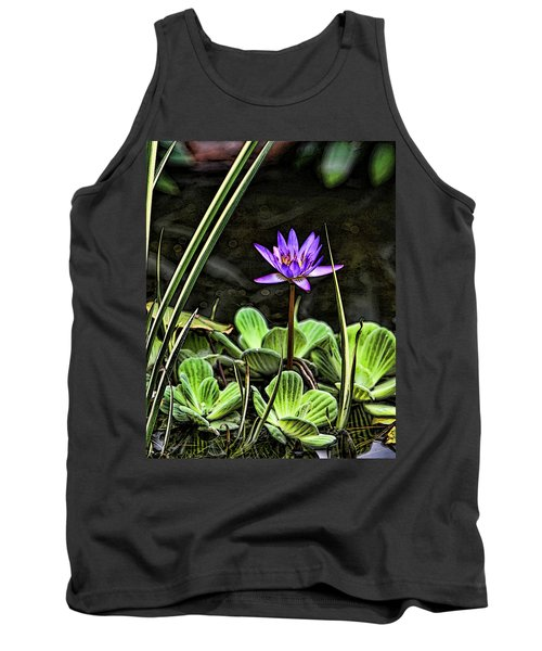 Watercolor Lily Tank Top