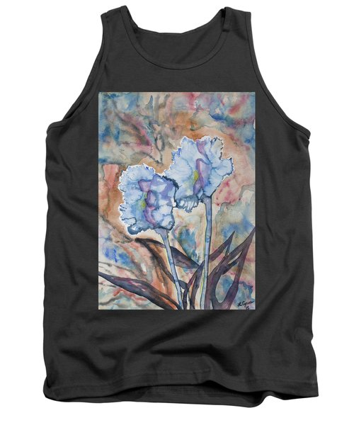Watercolor - Orchid Impression Tank Top