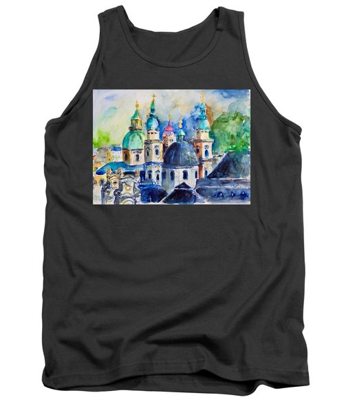 Watercolor Series No. 247 Tank Top
