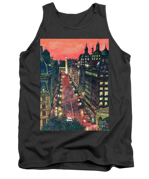 Watercolors-01 Tank Top