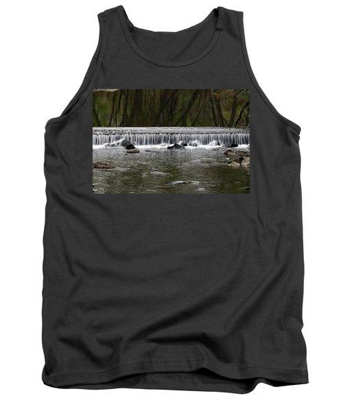 Waterfall 001 Tank Top by Dorin Adrian Berbier