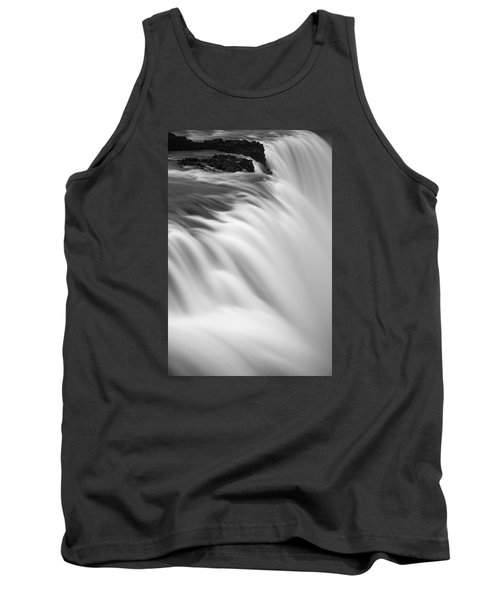 Tank Top featuring the photograph Waterfall by Chris McKenna