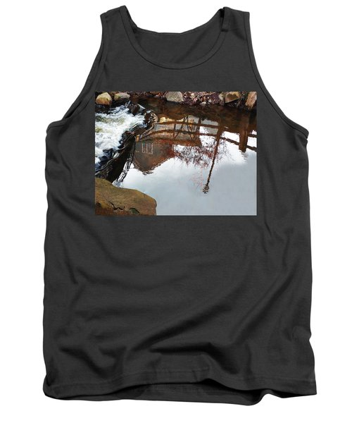 Waterfall From Calm Waters Tank Top
