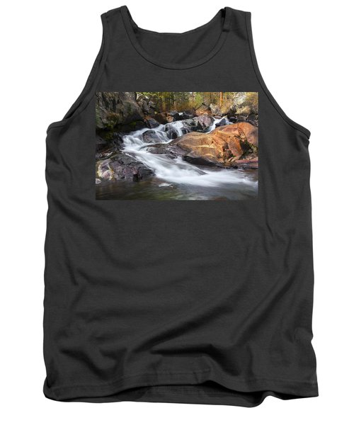 Waterfall In Lee Vining Canyon 2 Tank Top
