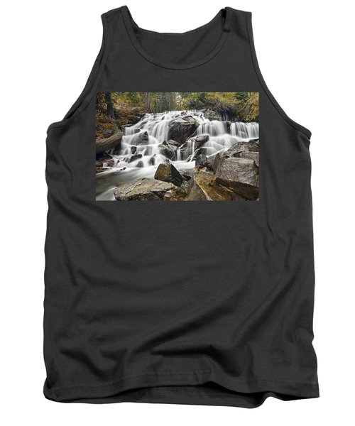 Waterfall In Lee Vining Canyon Tank Top