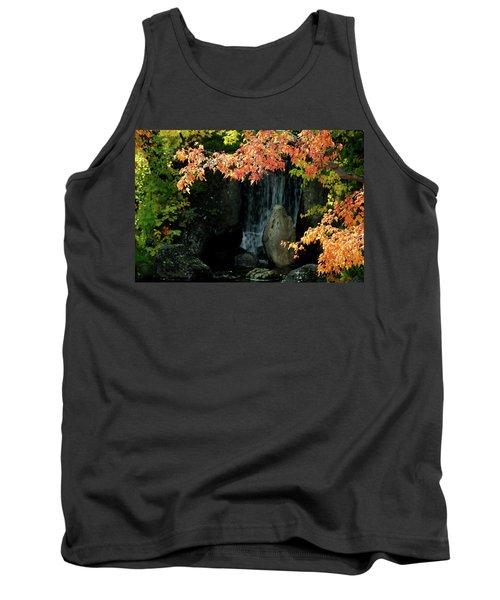 Waterfall In The Garden Tank Top