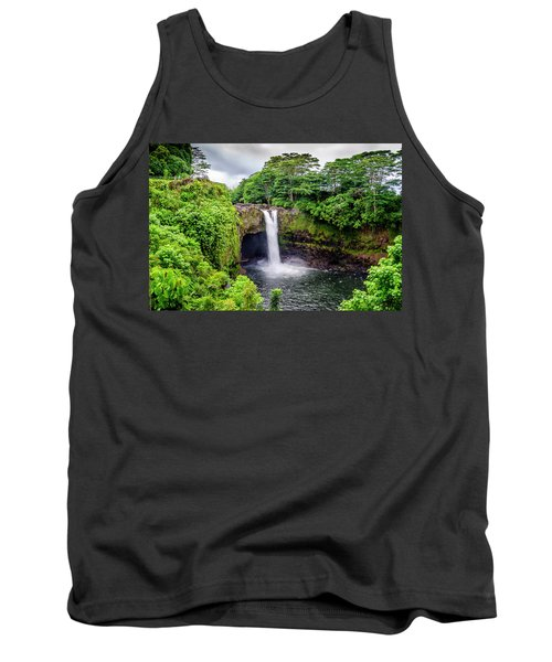 Waterfall Into The Valley Tank Top