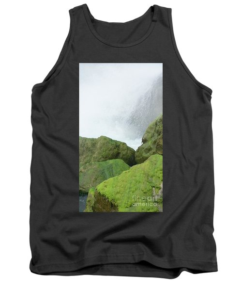 Tank Top featuring the photograph Waterfall by Raymond Earley