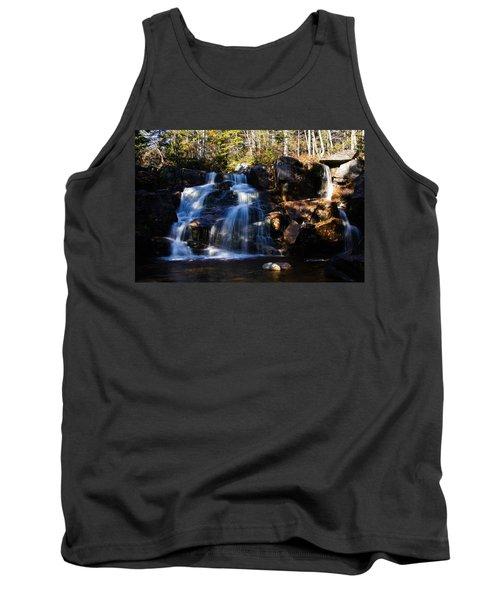 Waterfall, Whitewall Brook Tank Top