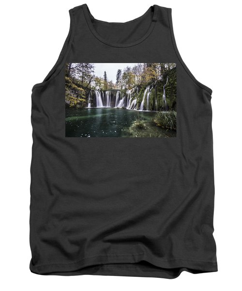 Waterfalls In Croatia Tank Top