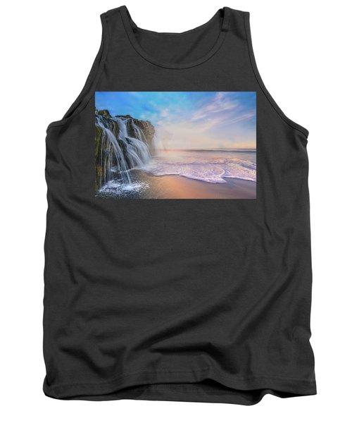 Waterfalls Into The Ocean Tank Top
