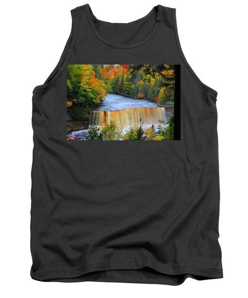 Waterfalls Of Michigan Tank Top
