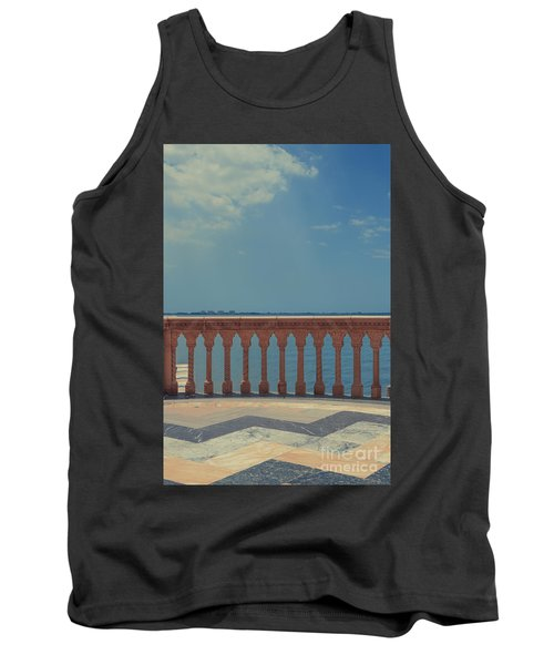 Waterfront Balcony Ringling Ca D Zan The Last Of The Gilded Mansions Tank Top