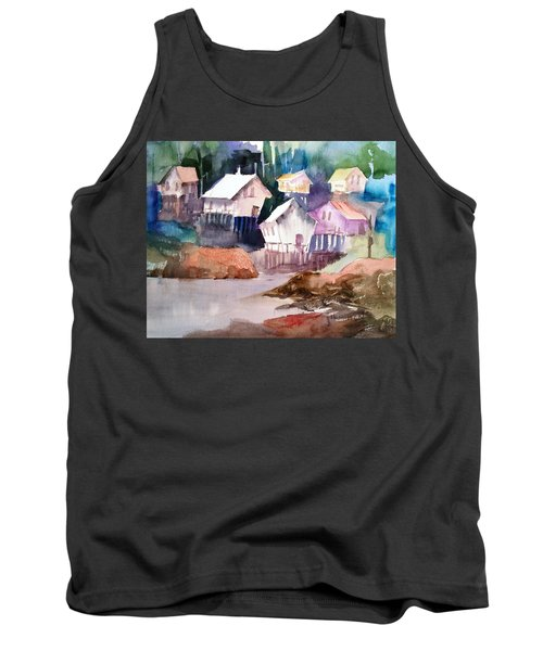 Waterfront Cabins Tank Top