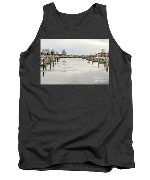 Waterfront Park In Ludington, Michigan Tank Top