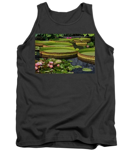 Waterlilies North And South Tank Top
