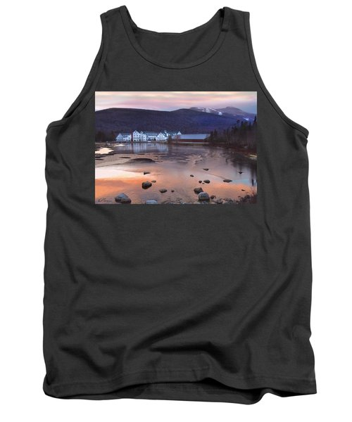 Waterville Valley Sunset Tank Top by Nancy Griswold