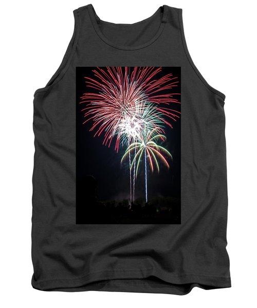 Waukesha Fireworks 01 Tank Top