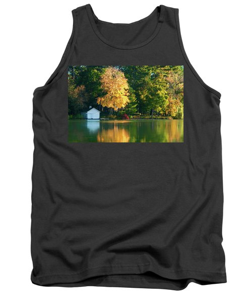 Waupaca Chain Boathouse Tank Top by Trey Foerster