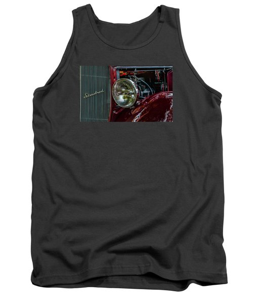 Tank Top featuring the photograph Waupaca Streetrod by Trey Foerster