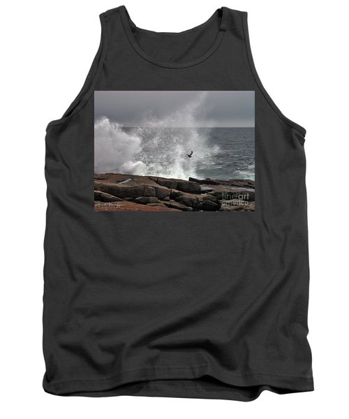 Waves Crashing  Tank Top