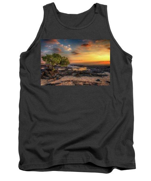 Wawaloli Beach Sunset Tank Top