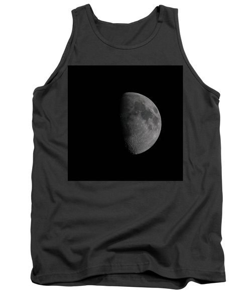 Waxing Gibbous Moon Tank Top