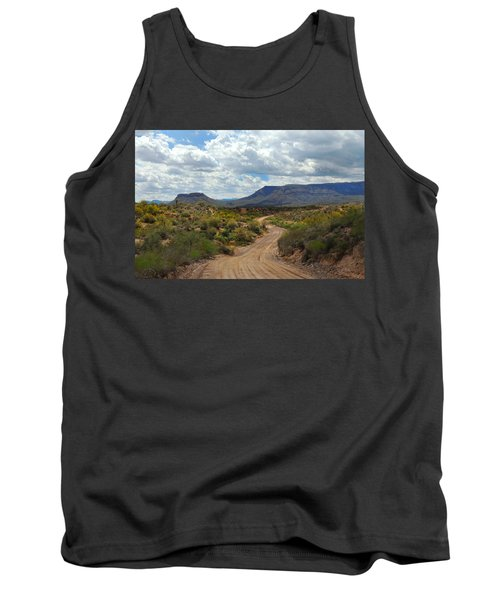 Way Out West Tank Top