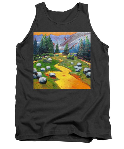 Way To The Lake Tank Top by Gary Coleman