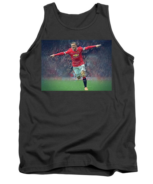 Wayne Rooney Tank Top by Semih Yurdabak