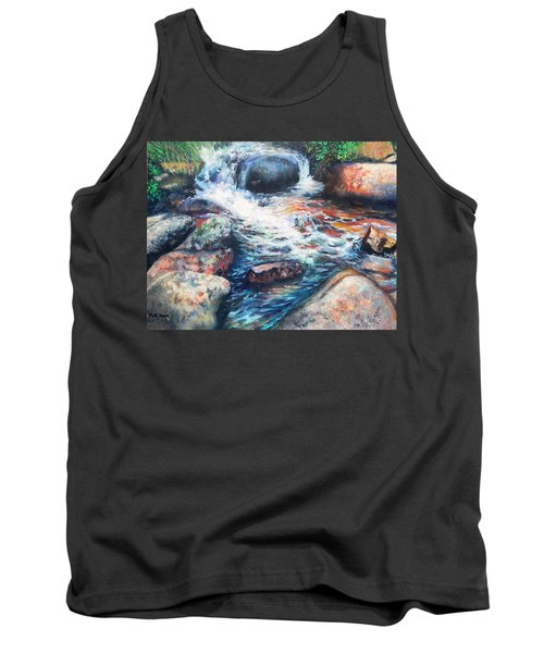 Wayside Brook Tank Top by Patti Gordon