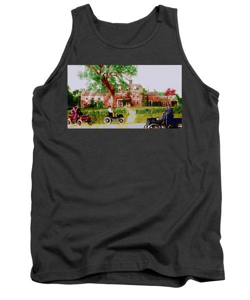Wayside Inn With Autos Tank Top