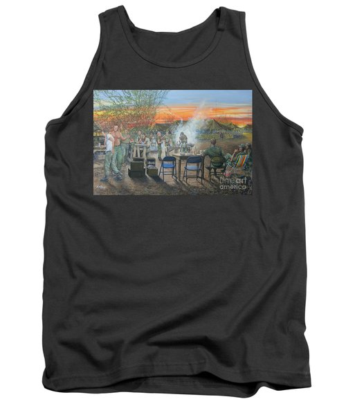 We Did It First Forrest Tank Top